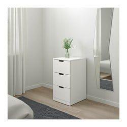 Ikea Us Furniture And Home Furnishings Ikea Nordli Ikea White Chests