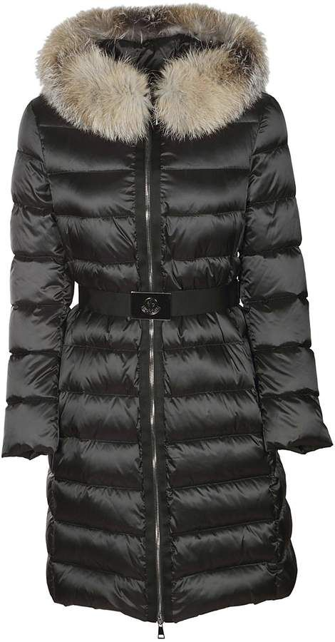 6f82b0b83c7 Moncler Belted Padded Coat