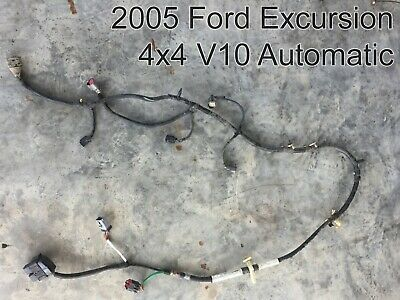 Details About Ford Excursion 4x4 V10 Automatic Frame Rail Wiring
