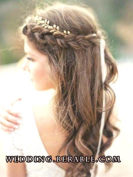 Festive Hairstyles Confirmation Festive Firmung Styles Wedding Frisur Geflochtene Frisuren Brautfrisur Frisur Hochzeit