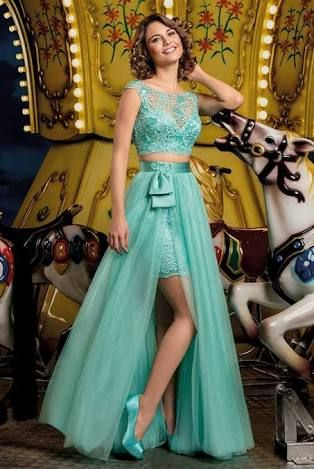 Resultado De Imagem Para Vestido Verde De Debutante 15