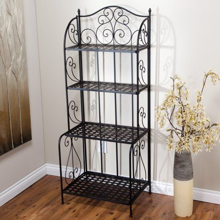 Home Outdoor Bakers Rack Interior Design Living Room Bakers Rack