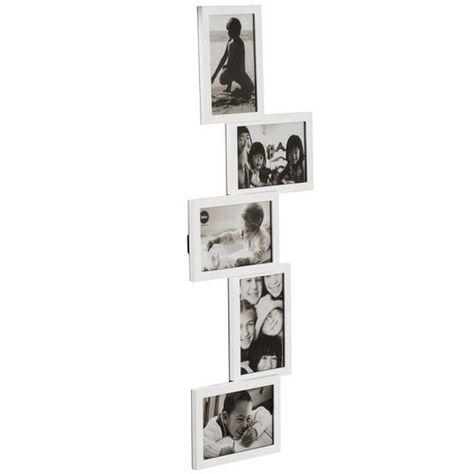Isernia Tower Multi Frame White Multiple Photo
