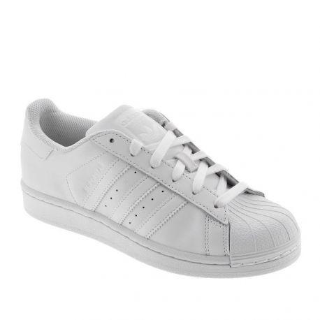 90eb3a5ddee Deportivo de Mujer Blanco Adidas SUPERSTAR J