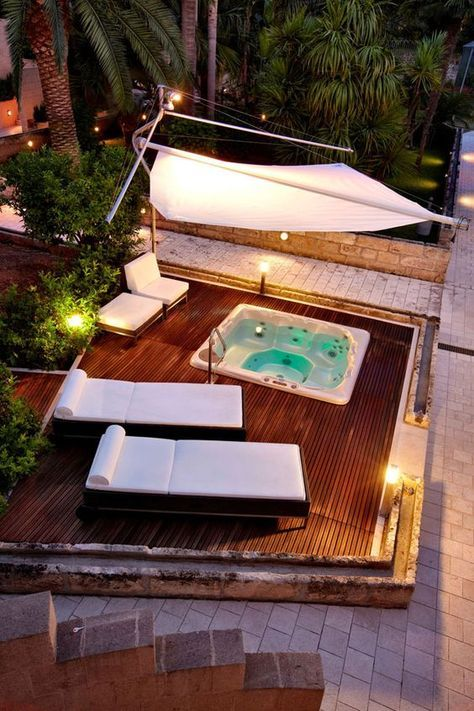 Outdoor Mini Jacuzzi.25 Awesome Inground Hot Tub Ideas That Will Drop Your Jaw