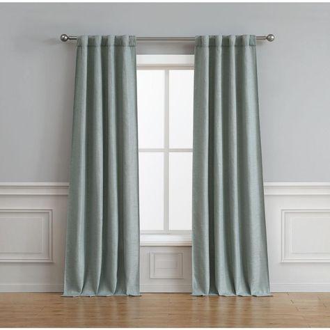 Bella Luna Astrid Thermal Room Darkening Backtab Window Curtain