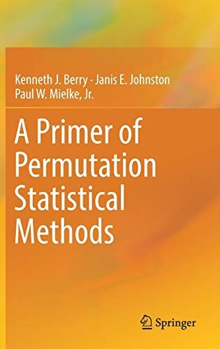 A Primer Of Permutation Statistical Methods Permutation Primer Methods Statistical Bucher