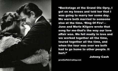I wanna Love Like Johnny and June, Cash it all in Give it all up, I Wanna Walk The Line, Walk The Line....Till the End of Time <3
