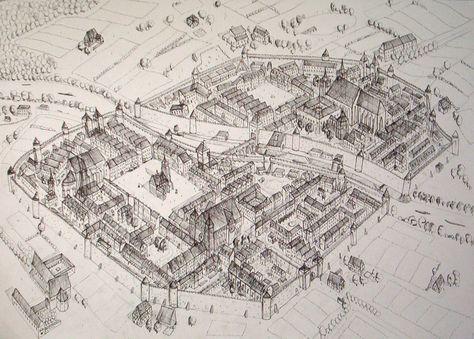 Medieval City by Kozzie001