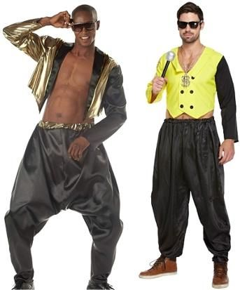 Hammer Pants 90s Fancy Dress 1980s Fancy Dress 80s Fancy Dress