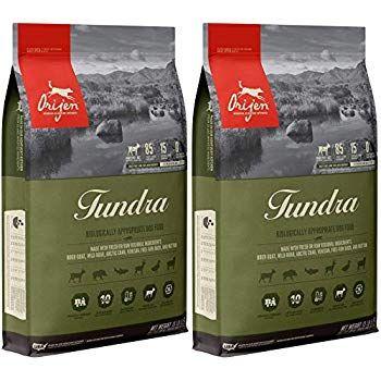 Orijen 2 Pack Of Tundra Dog Food 13 Pounds Each Grain Free