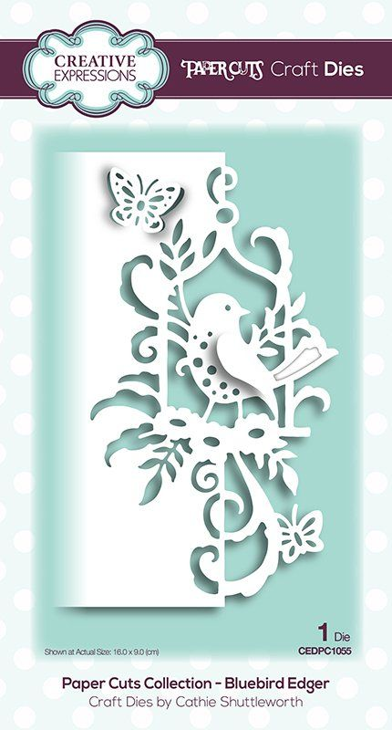 Creative Expressions Cathie Shuttleworth PAPER CUTS ANIMAL COLLECTION