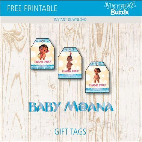 Moana Printable Address Labels  Moana Return Address Labels  Mailing Labels