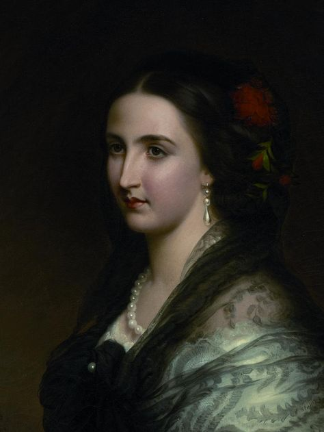 HIM Empress Charlotte of Mexico (1840-1927) née Her Imperial & Royal Highness Archduchess Charlotte of Austria