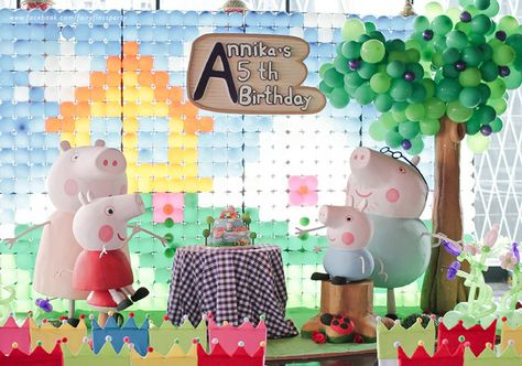 Peppa the Pig Birthday Party Ideas