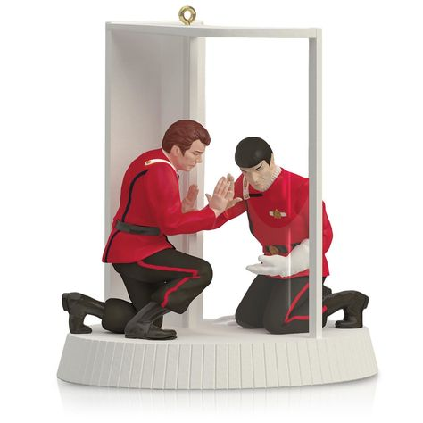Nothing says Christmas quite like a Vulcan dying from radiation poisoning, which makes the Star Trek II: The Wrath of Khan Mr. Spock and Captain Kirk The Needs