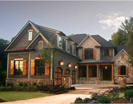 DesignMine Photo: Rustic Home Exterior #designmine | Freeman Manor ~ Plan  Designs | Pinterest | House, Future And Future House
