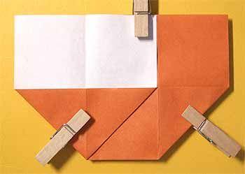 折り紙で椅子 いす の折り方 簡単な家の家具の作り方 セツの折り紙