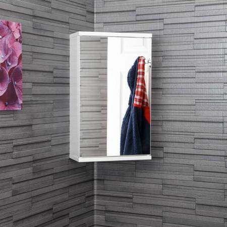 Croydex Simplicity Mirror Corner Bathroom Cabinet White Bathroom Cabinets Designs Classic Bathroom White Bathroom Cabinets