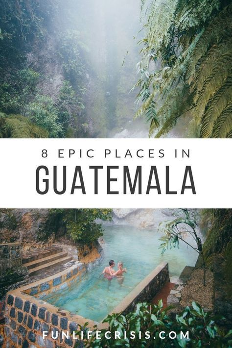 Traveling to Guatemala soon? Here are some of the best things to see and do in G… Reisen Sie bald nach Guatemala? Hier sind einige der besten Dinge, die es in Guatemala zu sehen und zu tun gibt! Cool Places To Visit, Places To Travel, Travel Destinations, Places To Go, Machu Picchu, Atitlan Guatemala, Countries In Central America, Les Continents, South America Travel
