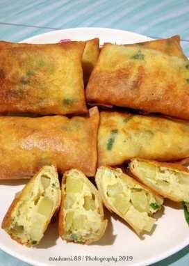 Resep Martabak Telur Mini Oleh Nhinie Tjong Resep Makanan Dan Minuman Makanan Telur