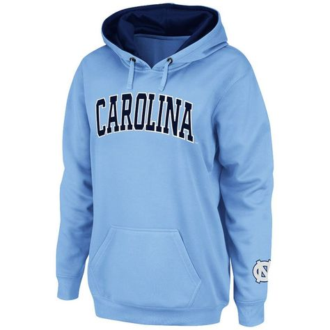a6e1e641b7c North Carolina Tar Heels Stadium Athletic Women s Arch Name Pullover Hoodie  - Carolina Blue