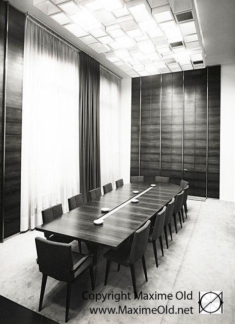 Petite salle de reunion de l Hotel de Ville de Rouen ...