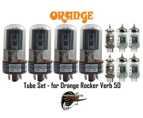 Tube Amp Doctor brand tubes Vacuum Tube Set for Fender Fender Hot Rod Deville