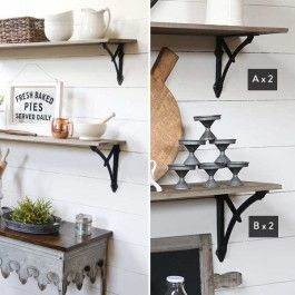 Victorian Inspired And Vintage Reproduction Made Of Distressed Metal And Weathered To Create A Timeless Feel Shelf Not Inc Shelves Shelf Decor Decor