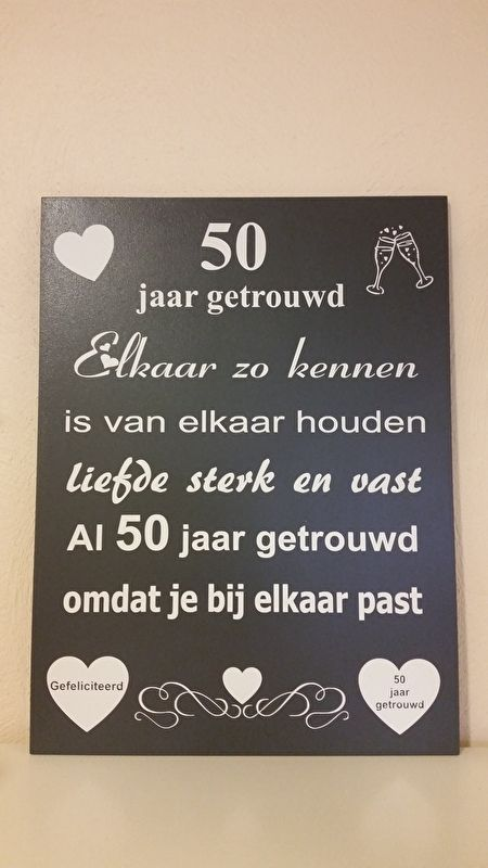 Afbeeldingsresultaat Voor 50 Jaar Getrouwd Bruiloft Gedichten Huwelijksgedichten Fijne Trouwdag