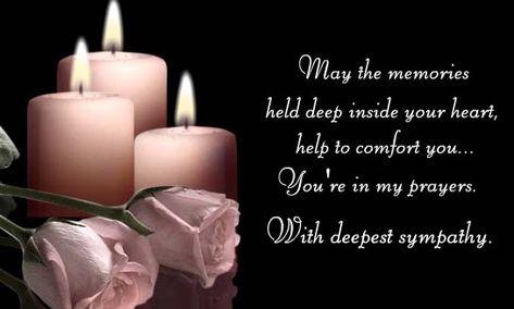 123Greetings  Send an ecard prayers Pinterest - condolence messages