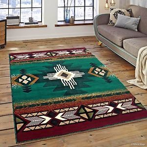 Details About Rugs Area Rugs Carpets 8x10 Rug Modern Southwestern