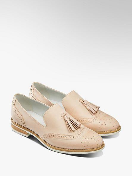 Dandy Slipper Von 5th Avenue In Beige Deichmann Dandy Schuhe Damen Mokassins