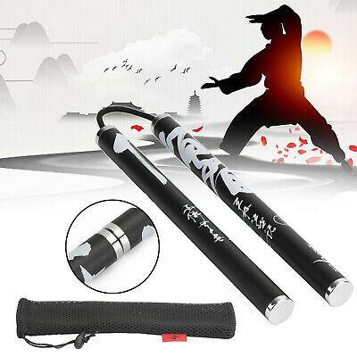 2 In 1 Safety Rope Nunchucks Kirin Pattern Magnetic Nunchakus Martial Art Kungfu