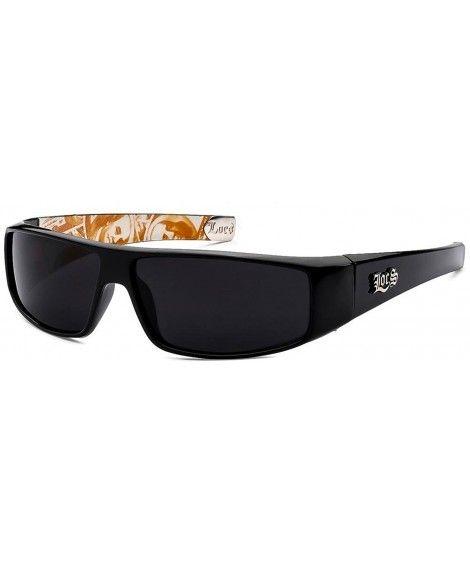 LOCS Rectangular Gangster Cholo Shades Bandana Mens Sunglasses UV400 LC33