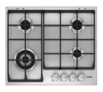 Aeg Hg654550sm Aeg Kitchen Appliances Stove