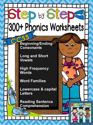Kindergarten Phonics Book- Kindergarten leading to Grade 1