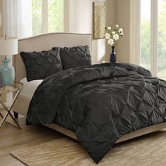 ce4cf51ee408a564295eed9a47a3133e - Better Homes And Gardens Pintuck Bedding Comforter Mini Set