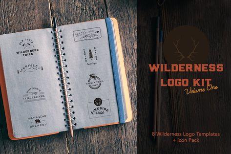 Wilderness Logo Kit Template AI
