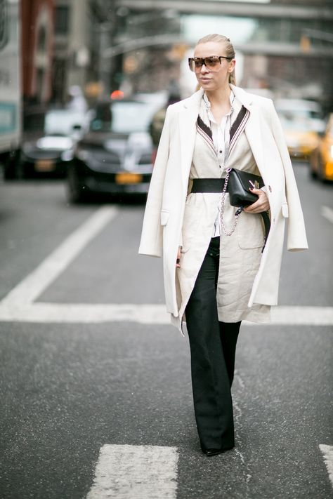 Sandra Hagelstam in a PINKO total look from Spring Summer 2016 collection  during New York Fashion Week for My PINKO Experience - February 2016 23e6a5c618d