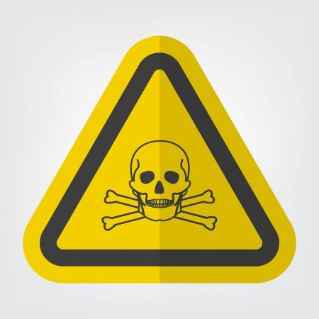 Toxic Material Symbol Sign Isolate On White Background Vector Illustration Eps 1 Sponsored Sign Isolate Symbo In 2020 Vector Illustration Symbols Illustration