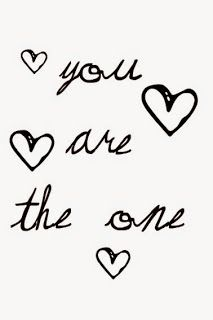 """""""You are the one"""" Be your beautiful self!"""