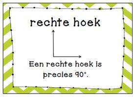 Wat zijn eigenlijk evenwijdige lijnen? Hoeveel graden heeft een rechte hoek? Hoe ziet een piramide er ook alweer uit? En hoe teken je een parallelogram? Allemaal vragen die je gemakkelijker uit kunt leggen met behulp van een plaatje.