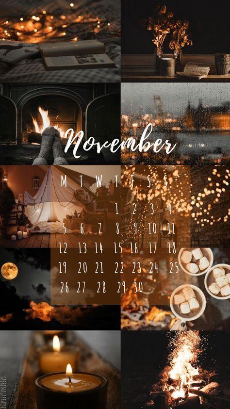 Wallpaper Backgrounds Aesthetic November 35 Ideas Calendar Wallpaper November Wallpaper Cute Fall Wallpaper