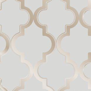 Magellan Watercolor Herringbone Paintable Peel And Stick Wallpaper Panel Joss Main In 2020 Peelable Wallpaper Temporary Wallpaper Modern Wallpaper