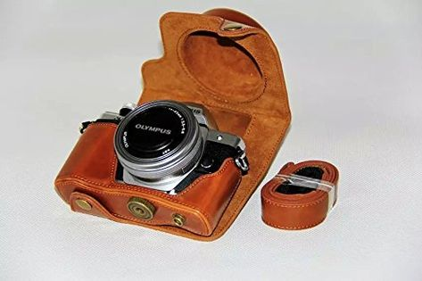 DURAGADGET Black Double Security Strap Compatible with Olympus SLR Cameras