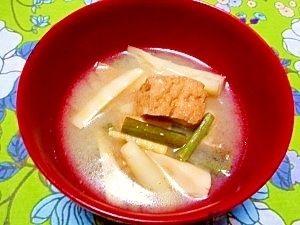 竹の子 お 味噌汁
