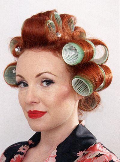 Pin Von Jill Auf That S How She Rolls Lockenwickler Haare Und Beauty Rotes Haar