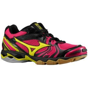 afd97ac5d315e Mizuno Wave Bolt 2 - Women's - Black/Pink/Bolt