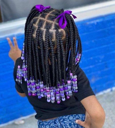 Black Baby Girl Hairstyles, Little Girls Natural Hairstyles, Little Girl Braid Hairstyles, Toddler Braided Hairstyles, Cute Hairstyles For Kids, African Hairstyles For Kids, Mixed Kids Hairstyles, Children Hairstyles, Kid Hairstyles